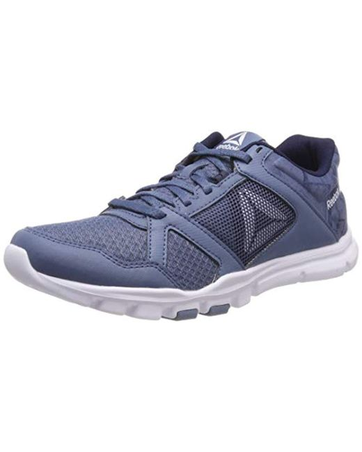 Reebok - Blue Yourflex Trainette 10 Mt Fitness Shoes - Lyst ... a8c4850ae