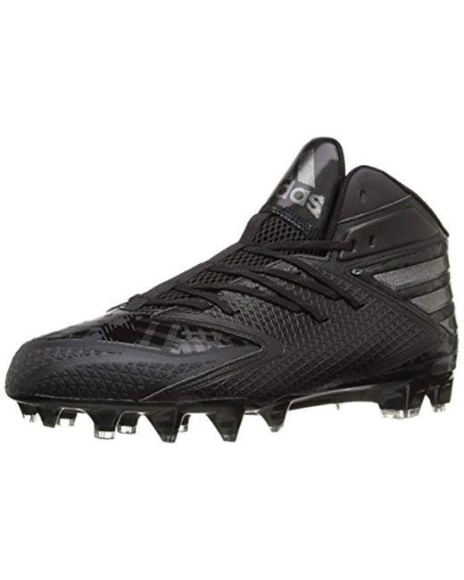 fe7ac81ffe041 adidas Freak X Carbon Mid Football Shoe in Black for Men - Save 52 ...