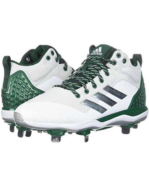 Lyst adidas originali mostro x carbonio metà baseball scarpa in verde