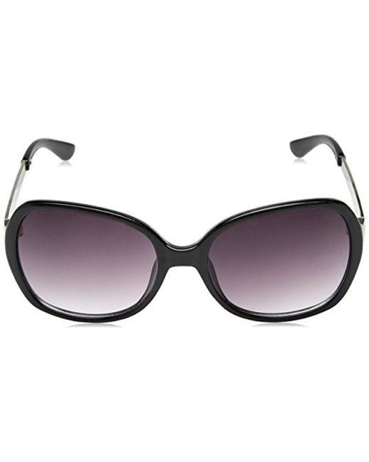 a051c343dd ... Sam Edelman - Black Union Bay U275 Oxan Square Sunglasses - Lyst ...