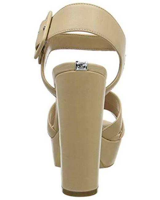 c9859be7 ... Guess - Multicolor Lylah (Sandal)/Leather, Zapatos de tacón con Punta  Abierta ...