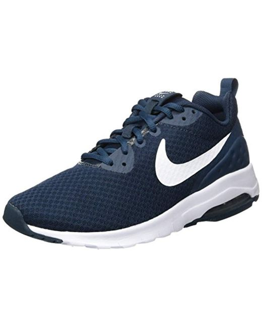 uk availability 6c2b6 9bb4e Nike - Blue Air Max Motion Low Cross Trainer for Men - Lyst ...