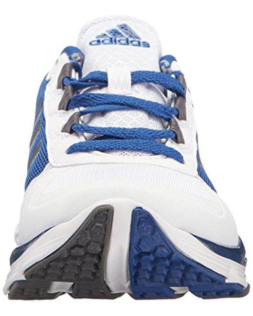 lyst adidas performance velocità trainer 2 scarpa blu per gli uomini.