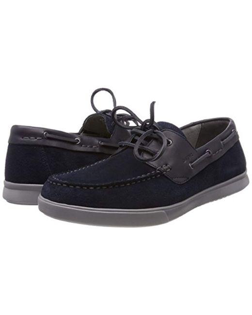 1b5bc03d9a7 Geox  s U Walee D Boat Shoes in Blue for Men - Save 18% - Lyst