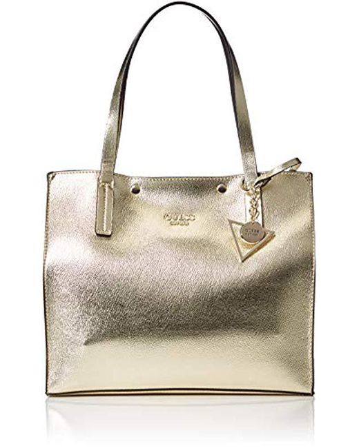 Metallic Shoulder oro 17 's Bag 5 Gold Guess Hwmg6778230 wqFzFEXP
