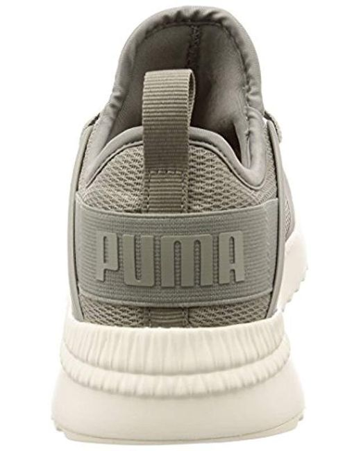 11c8fbcc5686d1 ... PUMA - Gray Unisex Adults  Pacer Next Cage Low-top Sneakers for Men ...