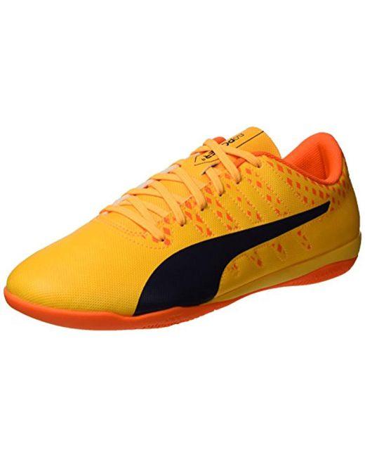 PUMA - Orange Evopower Vigor 4 It Soccer Shoe for Men - Lyst