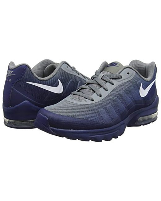quality design c965b daf5e ... Nike - Gray Air Max Invigor Print Running Shoes for Men - Lyst ...