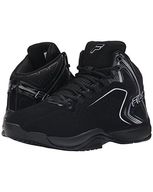 eb5a821e3ac6 ... Fila - Black Big Bang 4 Basketball Shoe for Men - Lyst ...