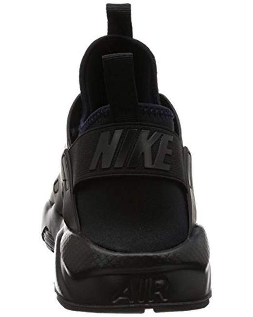 f2052ac870f09 ... Nike - Air Huarache Run Ultra Shoe Gymnastics White black for Men -  Lyst ...