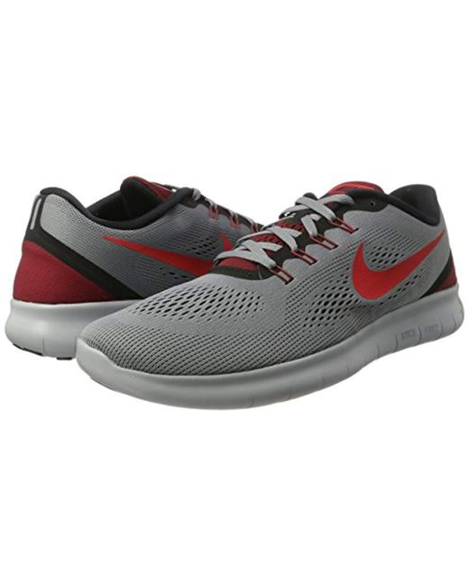 0ef7a5420582 ... Lyst Nike - Gray  s Free Rn Running Shoes for Men ...