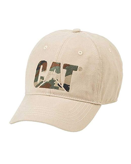 Caterpillar - Natural 1120066 Custom Design Hat for Men - Lyst