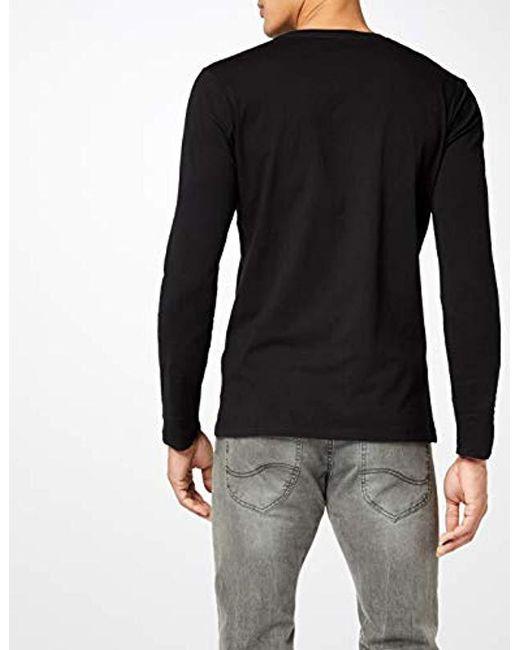 420c5e742c8 ... Pepe Jeans - Black EGGO Long Pm501321 T-shirt for Men - Lyst