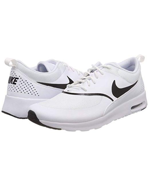 huge discount f55ae 990d8 ... Nike - White Wmns Air Max Thea Gymnastics Shoes - Lyst ...
