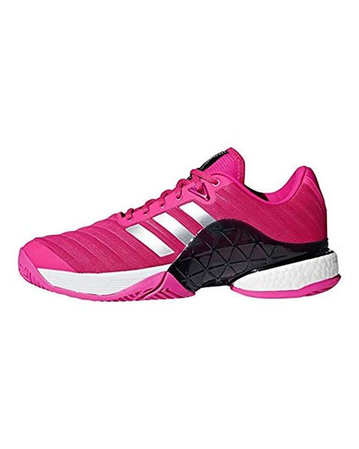 reputable site 964f7 bf89b ... Adidas - Pink Barricade 2018 Tennis Shoe for Men - Lyst ...