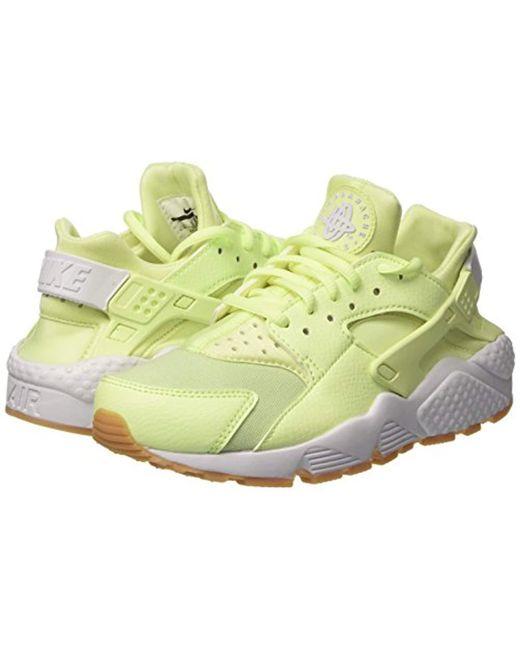 422858150ee7 ... Nike - Green Air Huarache Run Shoes - Lyst ...