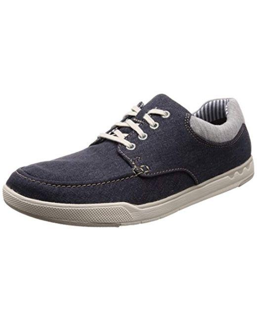 01278dabfcf Clarks - Blue Step Isle Lace, Zapatos de Cordones Derby para Hombre for Men  ...