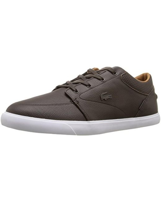 Lacoste - Brown Bayliss Vulc Prm Us Spm Fashion Sneaker for Men - Lyst