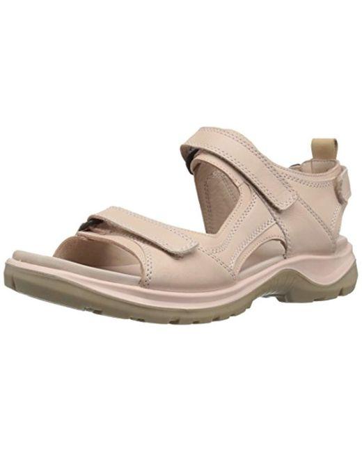 f4e6a85a4a2611 Ecco - Pink Offroad Athletic Sandals - Lyst ...