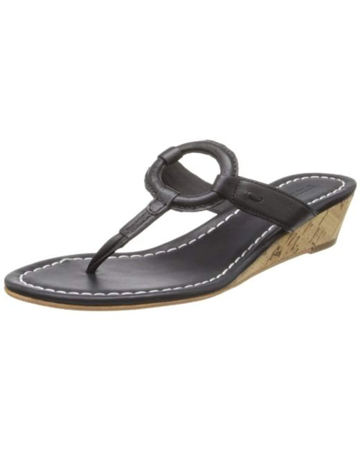Bernardo - Black Matrix Wd Wedge Sandal - Lyst