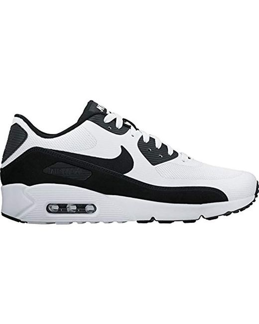 7a6d608564bc62 Nike - Black Air Max 90 Ultra 2.0 Essential Trainers for Men - Lyst ...