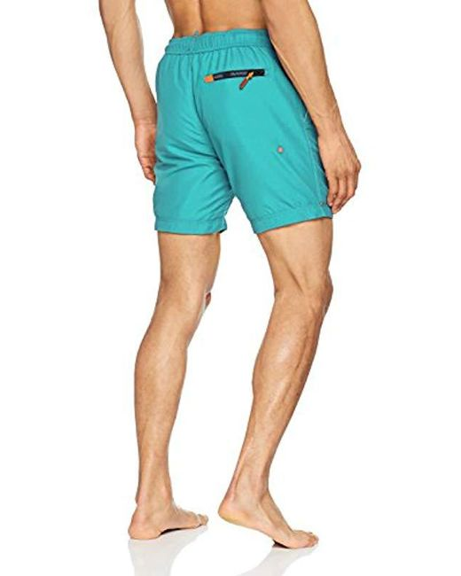 fb449a0d4c ... Superdry - Blue Water Swim Shorts for Men - Lyst ...