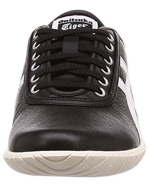 timeless design 156f3 977c8 ... where to buy asics black unisex adults tsunahiki low top sneakers 18da4  058a9
