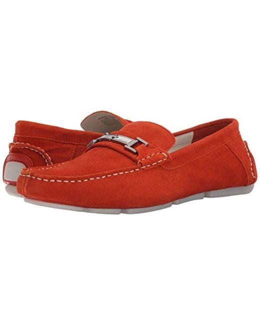8bcab476abf ... Calvin Klein - Red Magnus Slip-on Loafer for Men - Lyst ...
