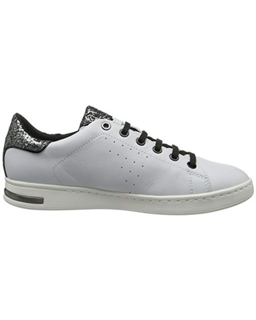 Geox jaysen d921ba sneakers de mujer silver women shoes