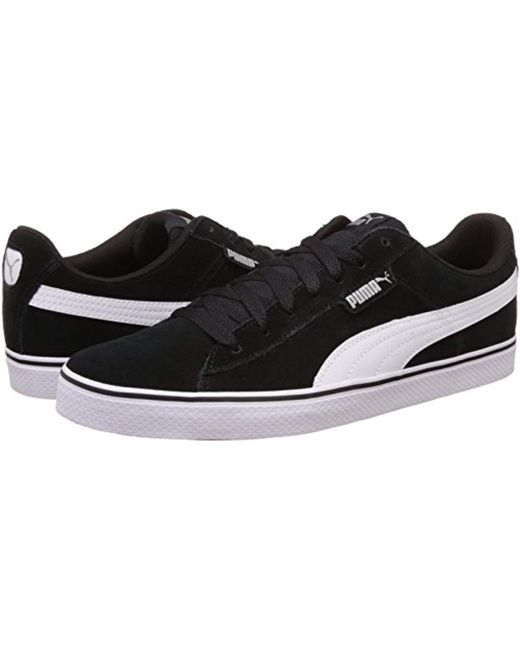 7edab024fd4 PUMA Unisex Adults' 1948 Vulc Low-top Sneakers in Black for Men ...