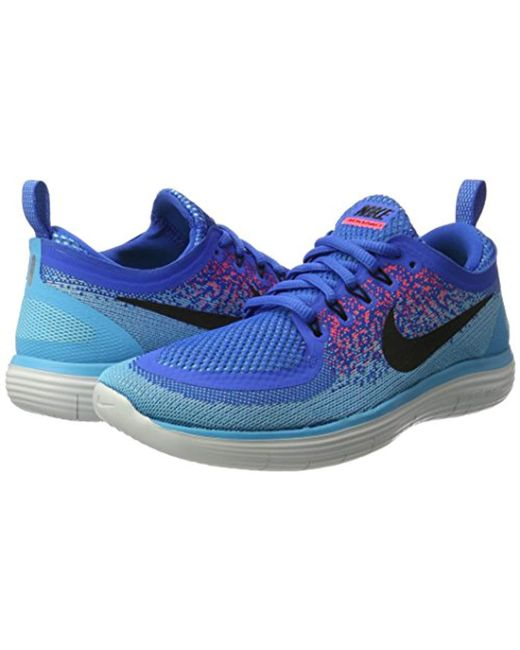 b9c46c74597 ... Lyst Nike - Blue  s Free Distance 2 Running Shoes for Men ...