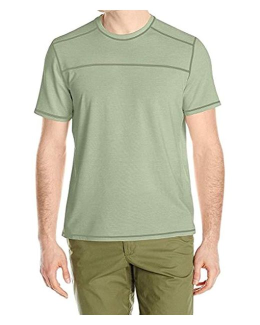 G.H.BASS - Green Short Sleeve Explorer Second Skin Tee for Men - Lyst