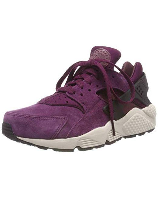 bcf3d6bc332d Nike - Multicolor Air Huarache Run Prm Gymnastics Shoes for Men - Lyst ...