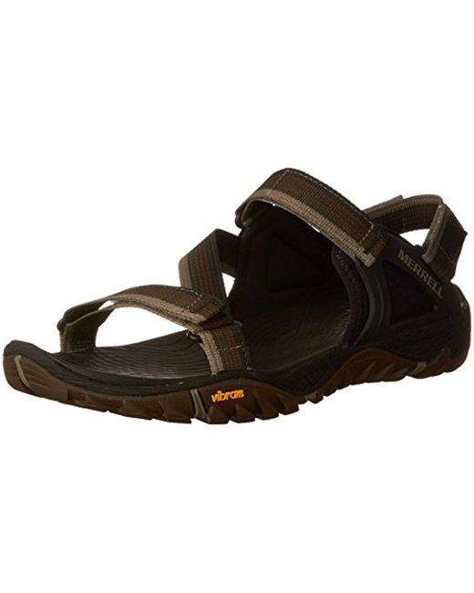 Merrell - Multicolor All Out Blaze Web Hiking Sandals for Men - Lyst
