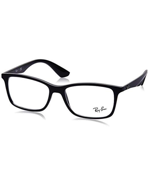 Ray-Ban - Black RX7047 Gafas en la Habana RX7047 5573 54 for Men - Lyst