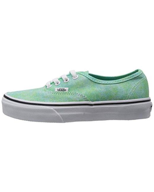 0cd7347806b ... Vans - Green Unisex Adults  U Authentic (sparkle) Mint Slippers for Men  ...