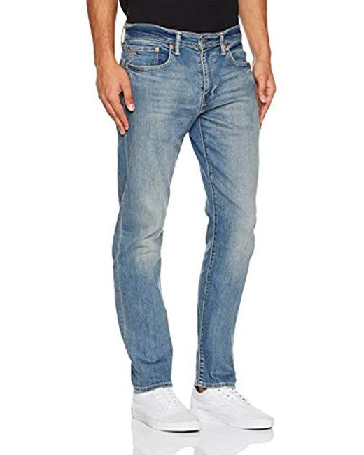 0308f56711e Levi's 502 Regular Tapered Fit Jeans in Blue for Men - Save 33% - Lyst