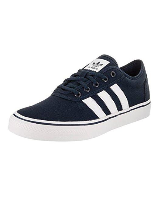 lyst adidas originali dga alleviare il merletto di scarpe da ginnastica in blu per gli uomini.