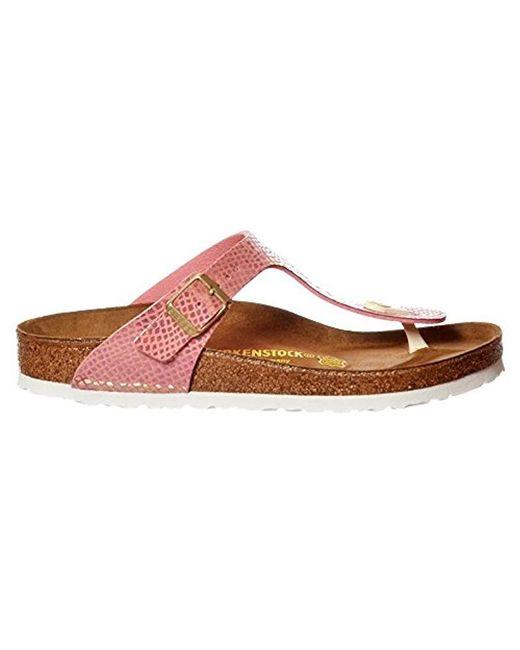 9a6c355d3b08 ... Birkenstock - Multicolor Papillio Gizeh Platform Sandal - Lyst ...