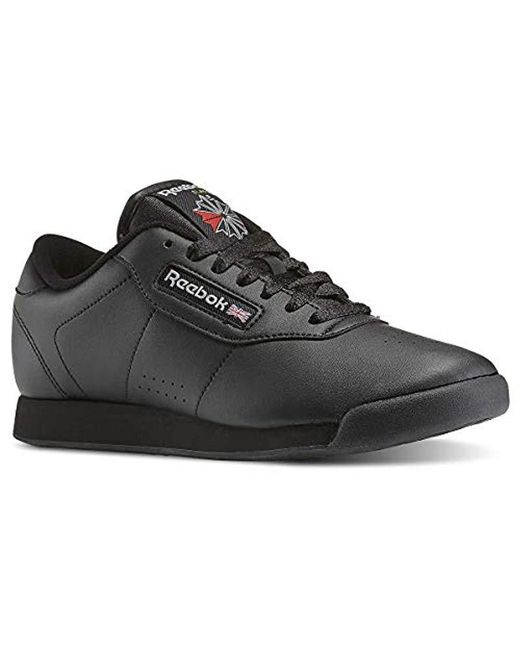 607888cb2d60a Lyst - Reebok Princess Gymnastics Shoes in Black - Save 17%