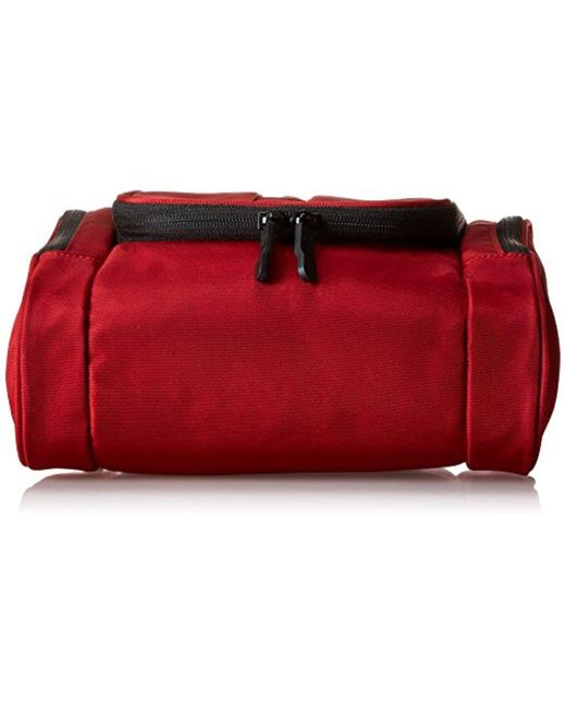 9ddde096e1 ... Victorinox - Red Hanging Toiletry Kit for Men - Lyst ...