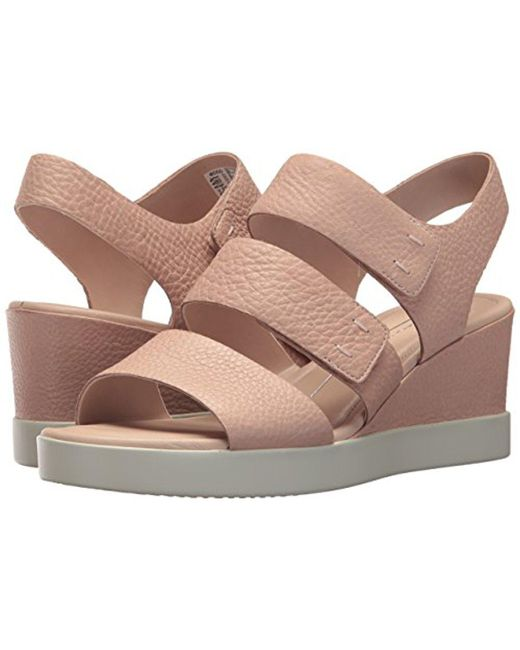 eccoSHAPE WEDGE PLATEAU - Platform sandals - rose dust BkDSi