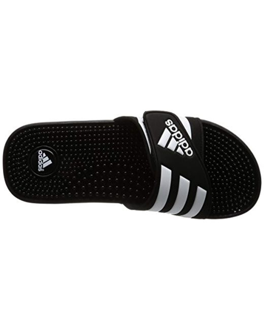 77b5157e0 ... Adidas - Black Addissage Slides Flip Flops Fitness Shoes for Men - Lyst