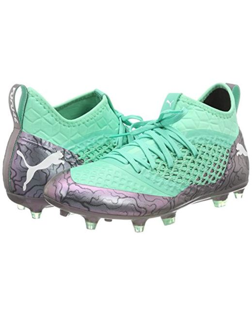 6ea7c8e18ef ... PUMA - Green Future 2.3 Netfit Fg ag Footbal Shoes for Men - Lyst ...