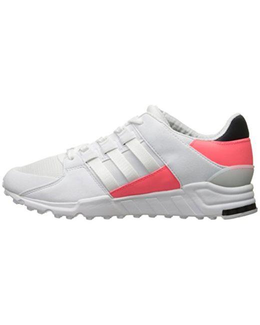 lyst lyst lyst adidas originali eqt sostegno delle scarpe di moda in bianco per gli uomini 8c7f20