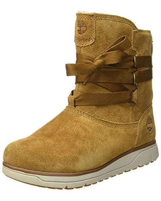 506c7e93e24 Women's Brown Leighland Pull-on Waterproof Boot