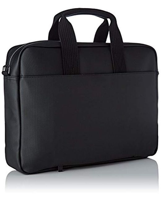 7af5216f16 ... Lacoste - Black Sac Homme Access Premium Shoulder Bags for Men - Lyst  ...