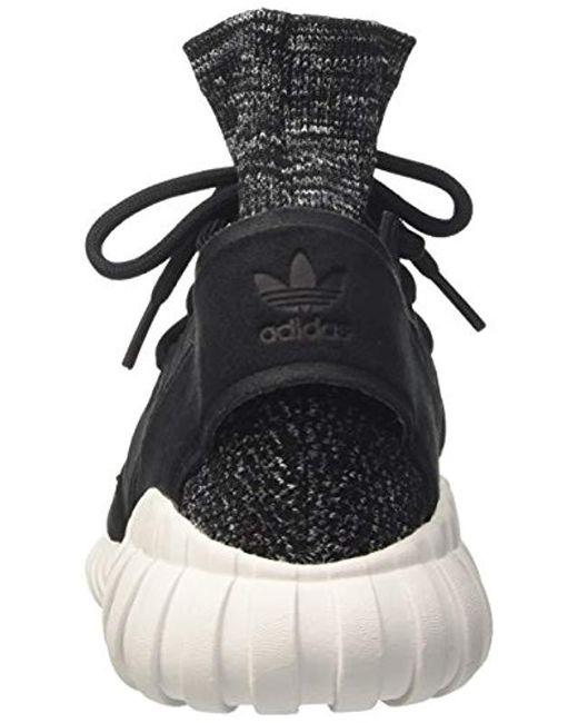 f4afd2c84fdf ... Adidas - Black Tubular Doom Primeknit Sneakers for Men - Lyst ...