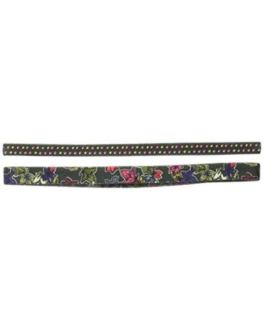 Vera Bradley - Green Stretch Headband Set, Signature Cotton - Lyst