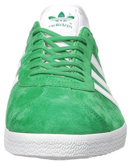 lyst adidas originals adidas gazelle lässige sneakers in grün für männer